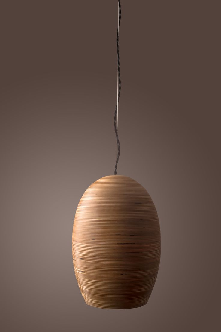 Hive M- Handmade plywood lamp by Tamed Space