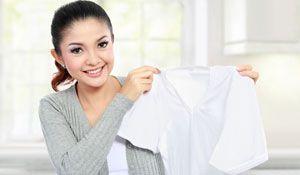 Dicas para manter as roupas brancas
