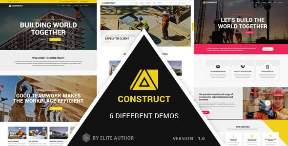 Construct - Construction, Building Multipurpose Company Theme