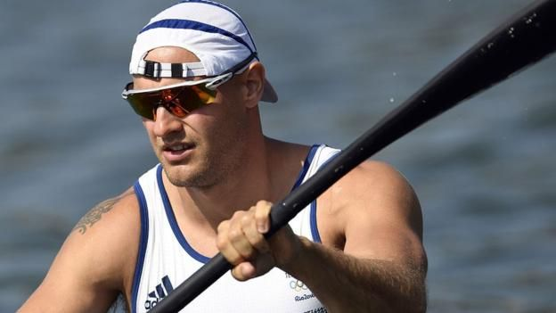 Great Britain's Liam Heath picked up his second medal at Rio 2016 with victory in the men's kayak single 200m sprint.  Heath had already won silver in the K2 200m alongside Jon Schofield.   The 32-year-old held off France's Maxime Beaumont to claim Team GB's 25th gold of the Games in 35.197 seconds.
