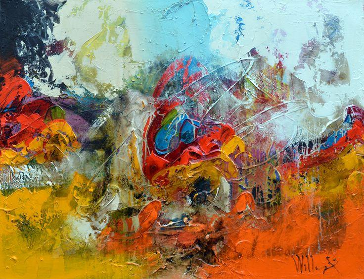 118x90cm door William Malucu - Te huur/te koop via Abrahamart.com  #art #painting #kunst #kunstuitleen #WilliamMalucu #abrahamart #bramreijnders #Eindhoven
