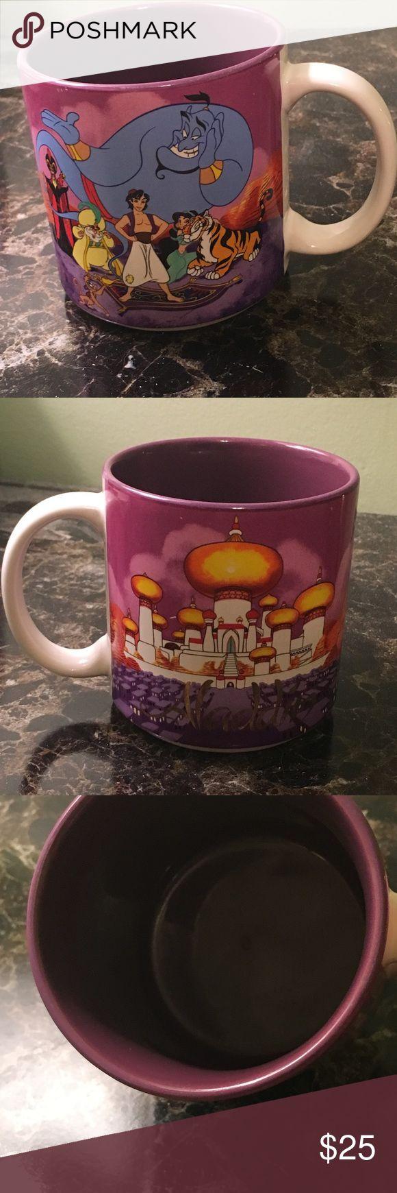 Disney Aladdin Mug Retro Ware Classic Coffee Mug Classic Aladdin Disney Mug. No chips. Cracks, or flaws. Normal wear from use. Disney Other