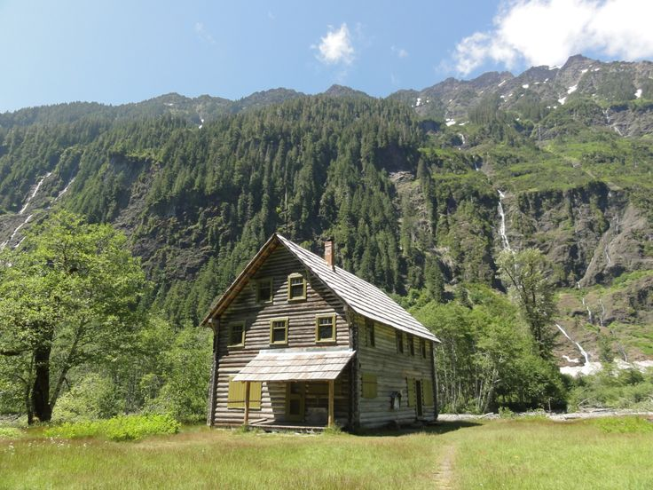Enchanted Valley, Olympic National Park, Washington, USA. This Was Built As  A