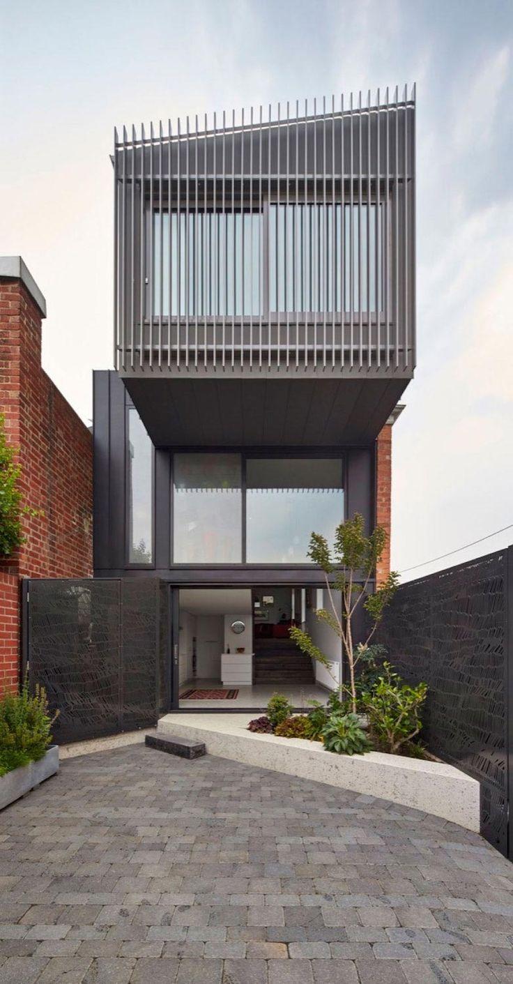 House in fitzroy melbourne australia by julie firkin architects 2015