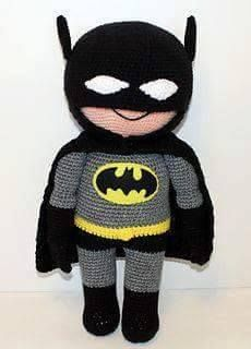 Batman Amigurumi Crochet Pattern Free : Die besten 17 Ideen zu Hakeln Batman auf Pinterest ...