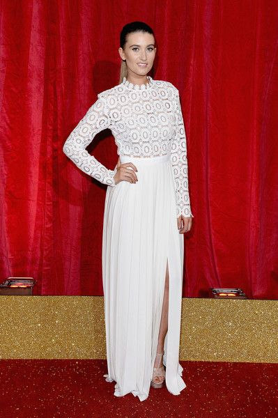 Charley Webb attends the British Soap Awards 2016 at Hackney Empire on May 28, 2016 in London, England.
