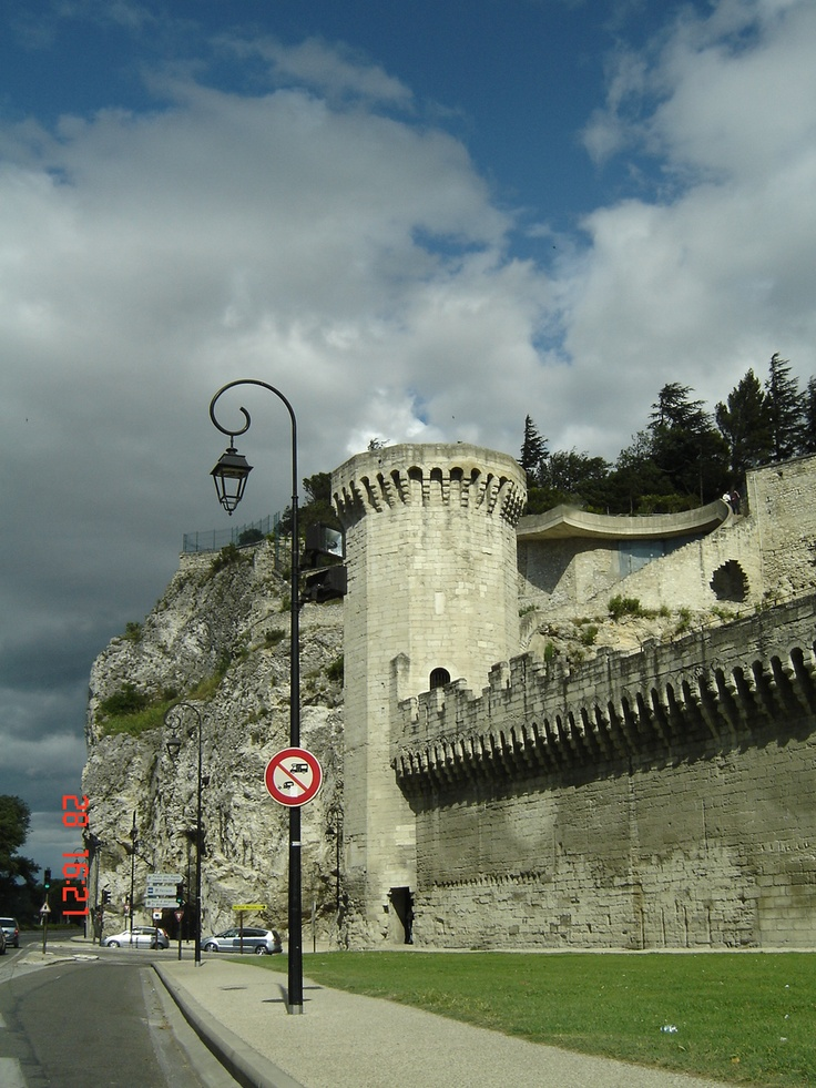 Part of what I presume is the City Wall, Avignon.