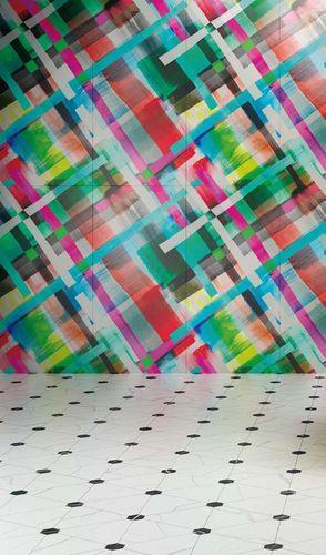 Indoor tile / wall-mounted / porcelain stoneware / polished LOLA 41zero42