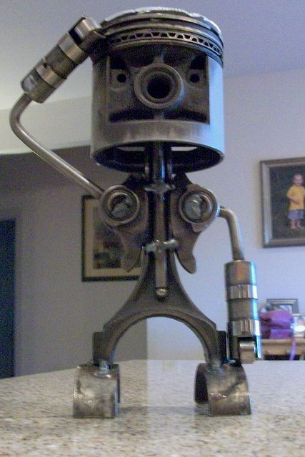 Img Things Made Out Of Car Amp Motorcycle Parts And