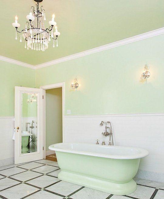 Green And Black Bathroom Ideas: 1000+ Ideas About Mint Green Bathrooms On Pinterest