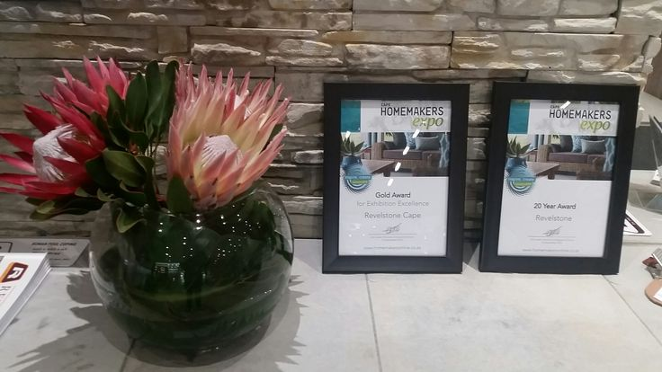 Our stand at the Cape Homemakers Fair 2016 won a gold for exhibition excellence and a 20 year exhibition award.
