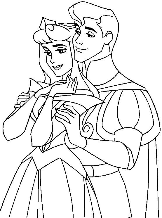 disney prince phillip coloring pages - photo#11