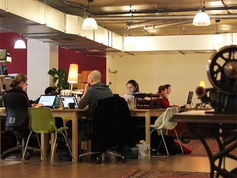 The Trampery, coworking space in Hackney (London)