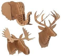 cardboard animals - Google Search