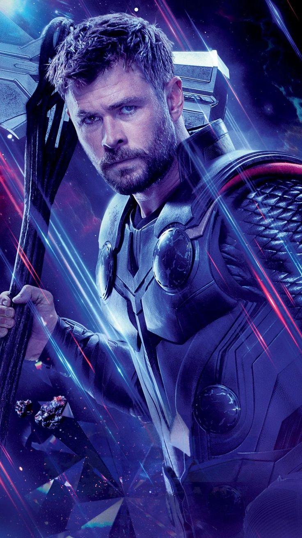 Avengers Endgame (2019) Phone Wallpaper Thor wallpaper