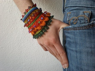 jamaica byles: Crochet Jewelry by Irregular Expressions