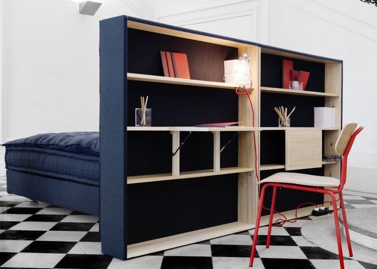 Tête de lit - séparation d'espace - bureau