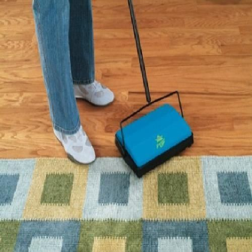 Non-Electric-Carpet-Sweeper-Floor-Cordless-Commercial-Sweep-Cleaner-Swift-New