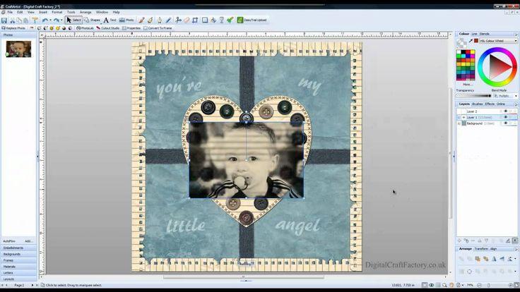 **Creative photo effect in Craft Artist