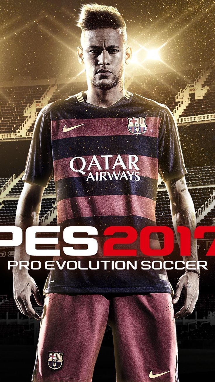 Neymar Full Hd Pes 16 Android Iphone Wallpaper Mobile Background Games Wallpa Games Http Pro Evolution Soccer Evolution Soccer Pro Evolution Soccer 2017