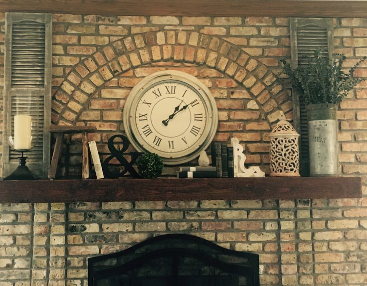 Patriotic room fireplace mantel designs