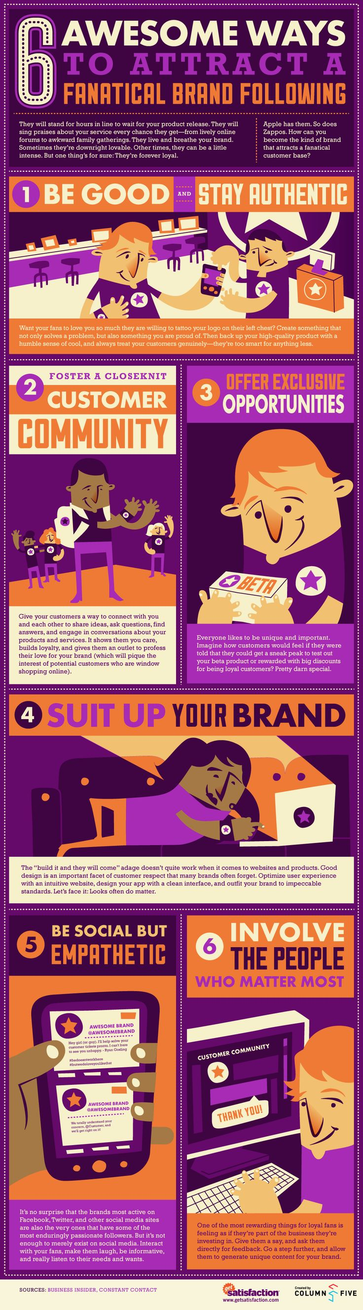 6 Awesome Ways to Attract a Fanatical #Brand Following