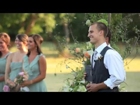 literally, the most perfect wedding video I've ever seen. Omg. I don't know what made me watch this video but its better than any fairy tale I've seen. I want to cry. Ahhhh. Can I please have a wedding like this? (Favorite part is the worship during the wedding.) LOVE how they hid the bride until time to walk