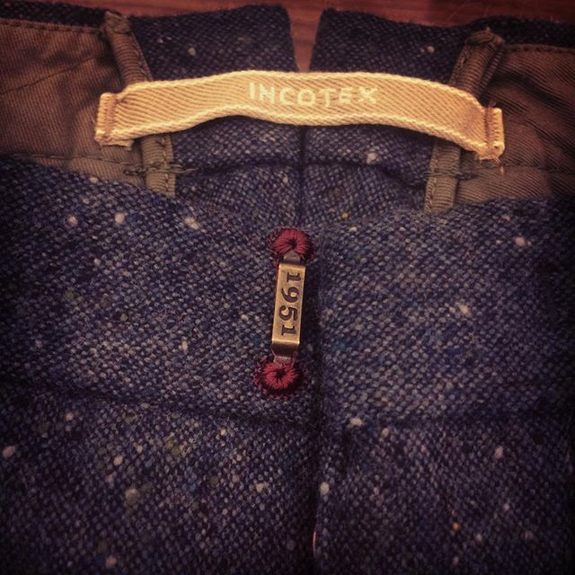 Slacks by #INCOTEX ready for #FW... We love it! Shop in our #inzerillostore www.inzerillo.it  #newin #luxury #palermo #italy #top #rtw #cool #style #icon #moda #fashion #man-style #picoftheday #TagsForLikes #amazing #follow #followme #cool #bestoftheday