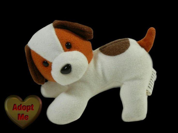 Wendy's Ubisoft Entertainment Stuffed Plush Mini Beagle Hound Puppy Dog 4in #Ubisoft
