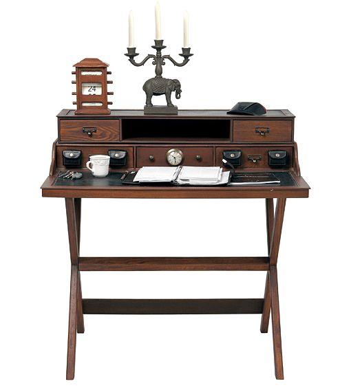 Mesa de Escritorio Colonial Cruz   Material: DM Densidad Media   Mueble realizado en MDF, PVC de cuero artificial... Eur:415 / $551.95
