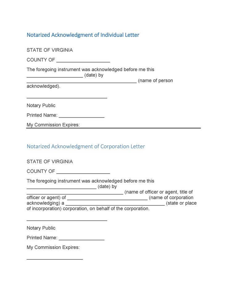 49++ Personal notarized letter sample trends