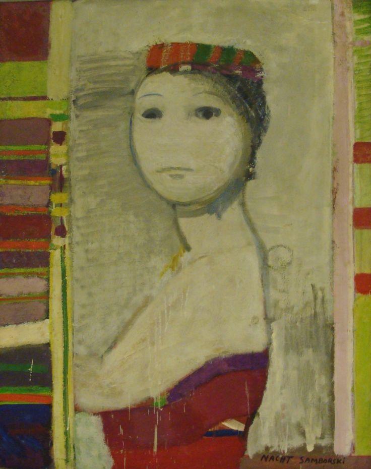 A. Nacht-Samborski, Cyrkówka (Circus Actress), 1964 (?), National Museum in Poznań, Poznań