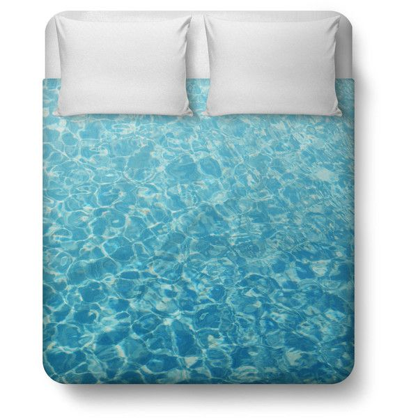 Crystal Oceans Duvet Cover, Aqua Blue Beach Style Nautical Cover,... ($156) ❤ liked on Polyvore featuring home, bed & bath, bedding, twin bedding, aqua bedding, twin bed linens, king size bedding and king bedding