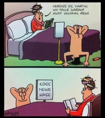 Nicht reinfallen...even funnier in a different language!!! Lol!!!