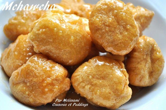 m'chaoucha ou omelette au miel kabyle