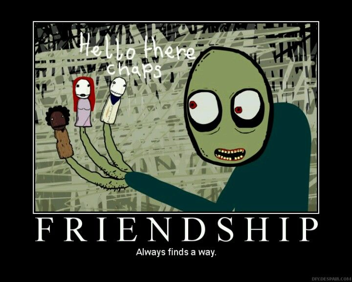 Salad Fingers - Creepy, yet cute.