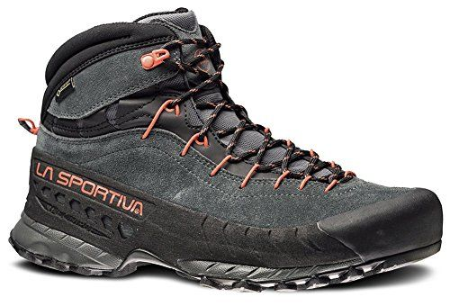 La Sportiva TX4 Mid GTX Approach Boot - Men's Carbon/Flame, 46.5