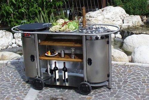 cucina esterno compatta mobile | Garden Furniture | Pinterest | Grills
