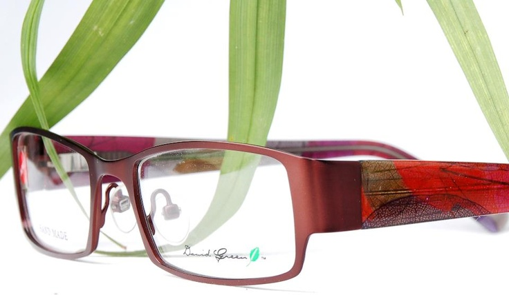 The latest addition to the international David Green Eyewear Leaf Collection is…