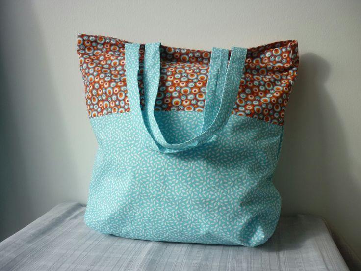 sac cabas pour shopping - totebag