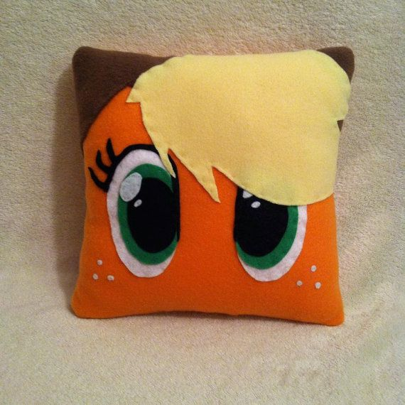 Applejack Plush Pillow, My Little Pony Bedroom, Pony Decor