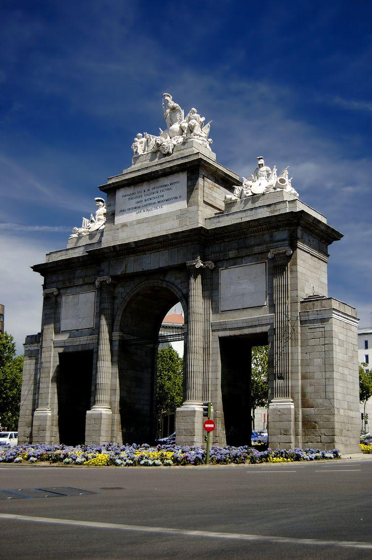 Puerta de Toledo en Madrid