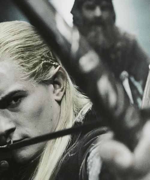 Legolas. He's so cool. :3 (But not as cool as Thranduil... *cough*)