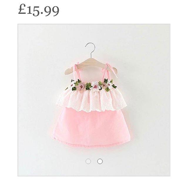 Little baby girl dress- perfect and summery 😍 • • #babygirl #boutique #babyootd #brandrep #babysale #babystyle #babymodel #babyshower #baby #love #littlegirl #trendytots #toddler #tutu #tutudress #mama #stylishkids #stylishbaby #igbabies #igkids #igbaby #instadaily #brandrepstyle #fashionbaby #fashionmini #igbabygirl #igshop #boutiqueshopping #boutique #igshopping #evedeso #eventdesignsource - posted by Sofias childrens Clothes UK https://www.instagram.com/sofiaschildrensclothes. See more…