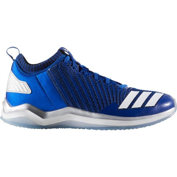 adidas Men's Icon Baseball Trainers, Size: 13.0, Blue