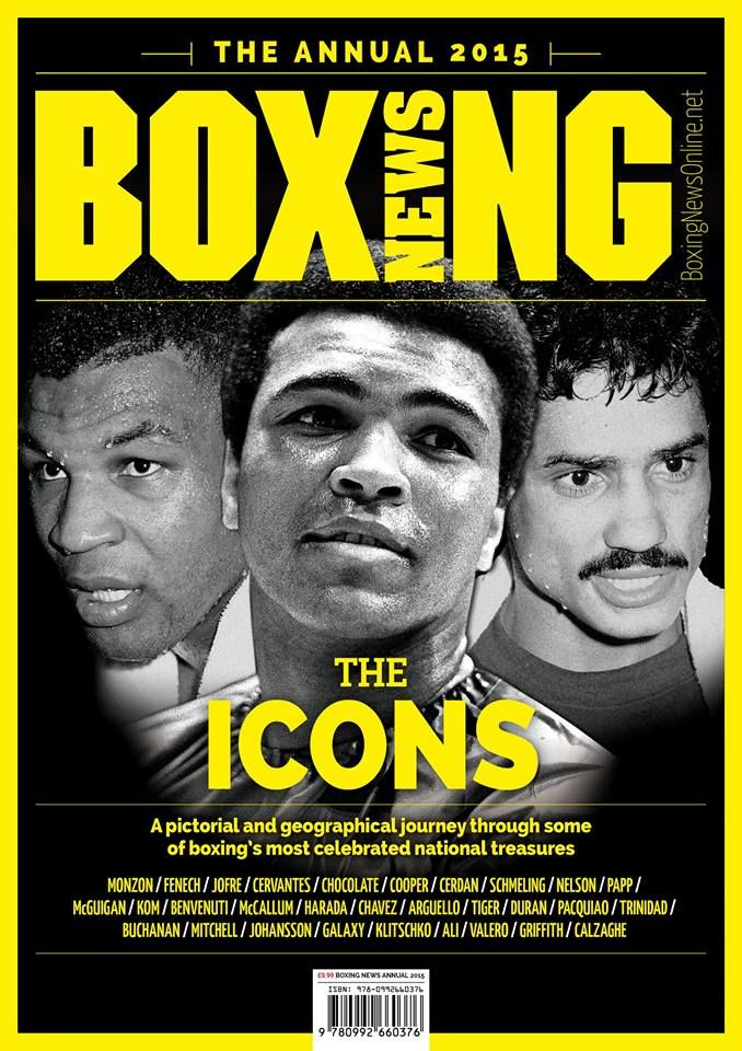 Mike Tyson, Muhammad Ali and Alexis Argüello.