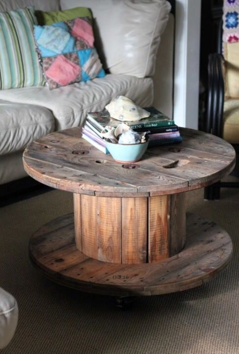 31 best wooden spool ideas images on Pinterest   Cable ...