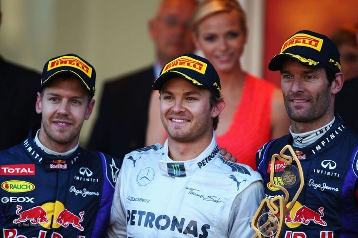 Podium, 2013 Monaco Grand Prix,