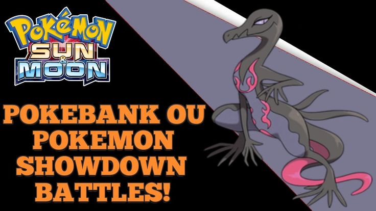 Pokemon Sun & Moon Pokebank OU Salazzle Showdown Battles!