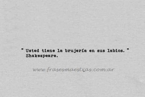 frases de shakespeare - Buscar con Google